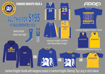 Ivanhoe knights Pack A template