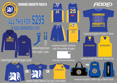 Ivanhoe knights Pack B template