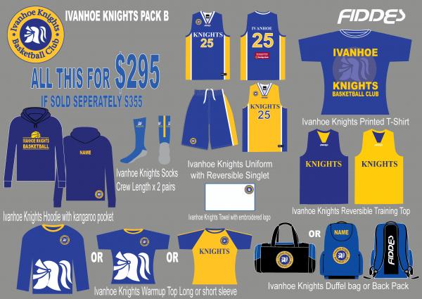 Ivanhoe knights Pack B template