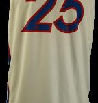Basketball Singlet AllStars White Game Singlet Back
