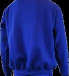 Basketball Hoodie Ivanhoe Royal Blue Long Sleeve Back