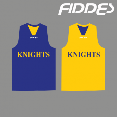 ivanhoe Knights reversible training singlet