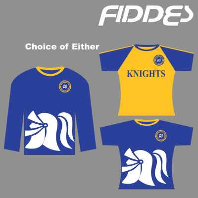 ivanhoe knights warm up tops 3 to choose from