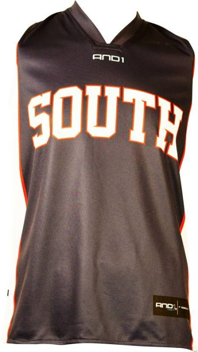 Basketball Singlet South Adelaide Navy Game Singlet Front
