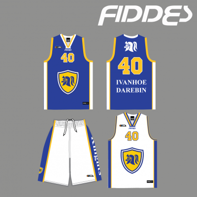 ivanhoe Darebin uniform reversible singlet