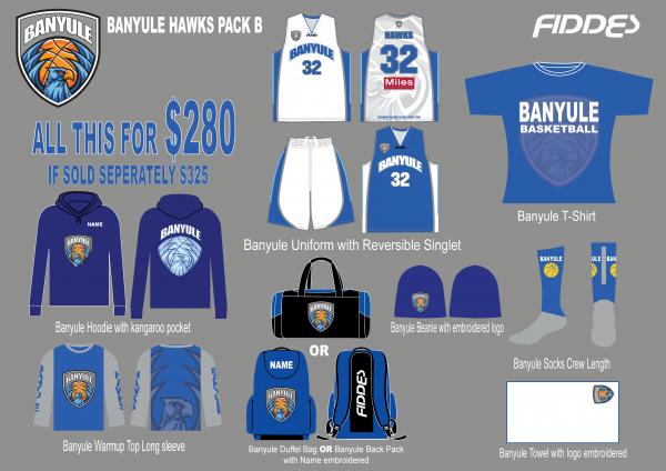 Banyule Pack B template