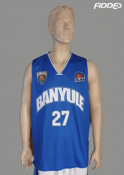 banyule blue jersey front