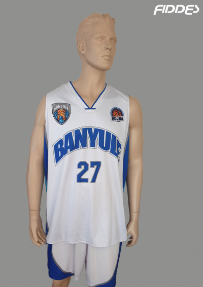 banyule white jersey front