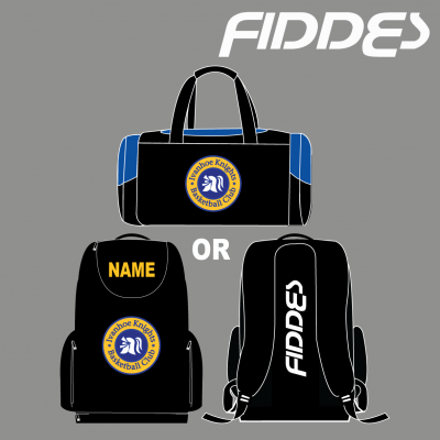 ivanhoe knights duffel or back pack