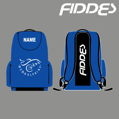 DSD back pack with embroidered name