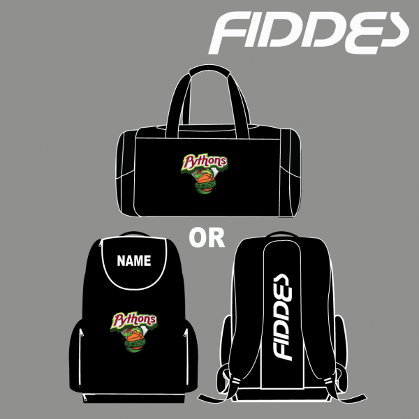 pythons duffel or back pack