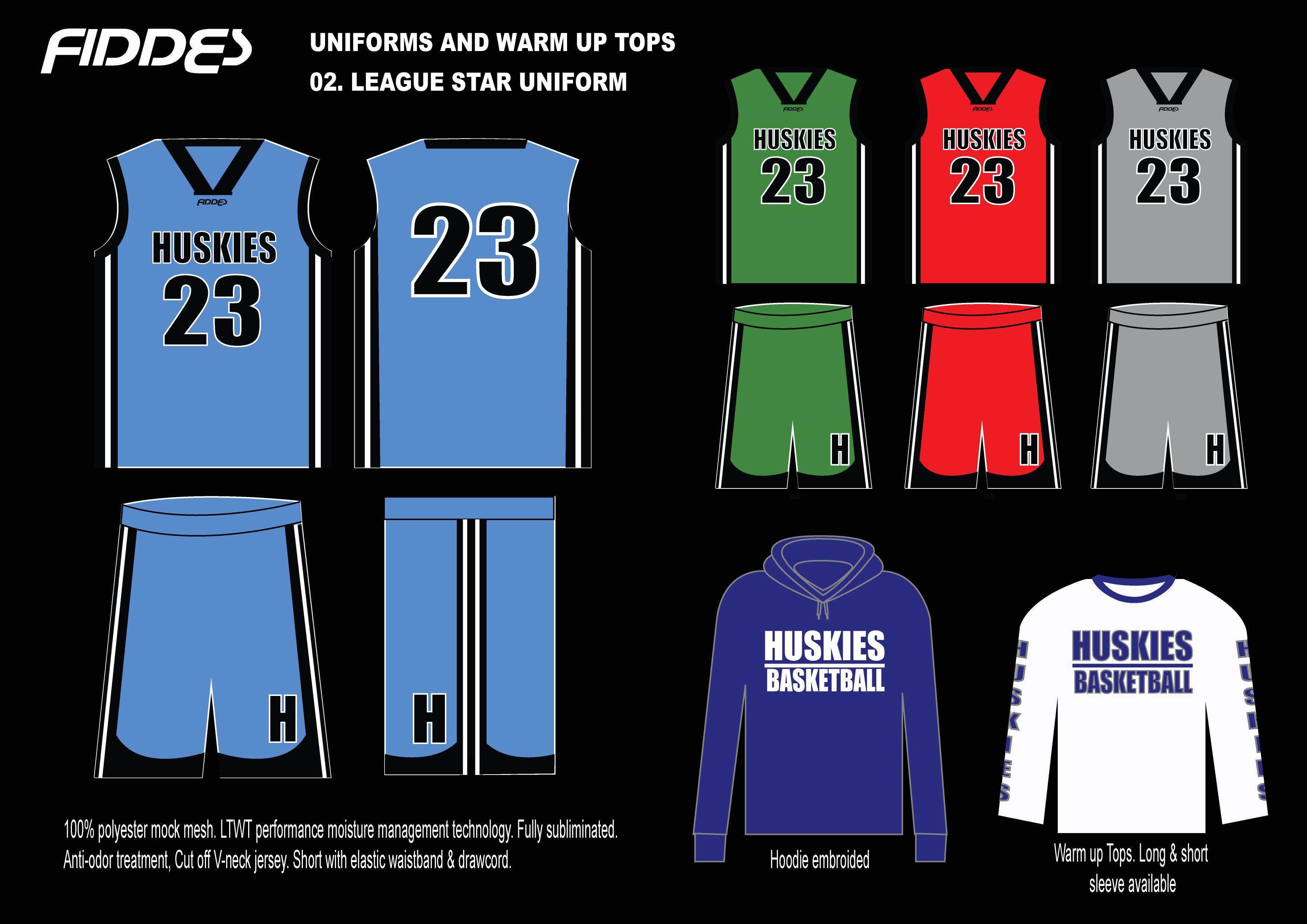 02. League Star Uniform
