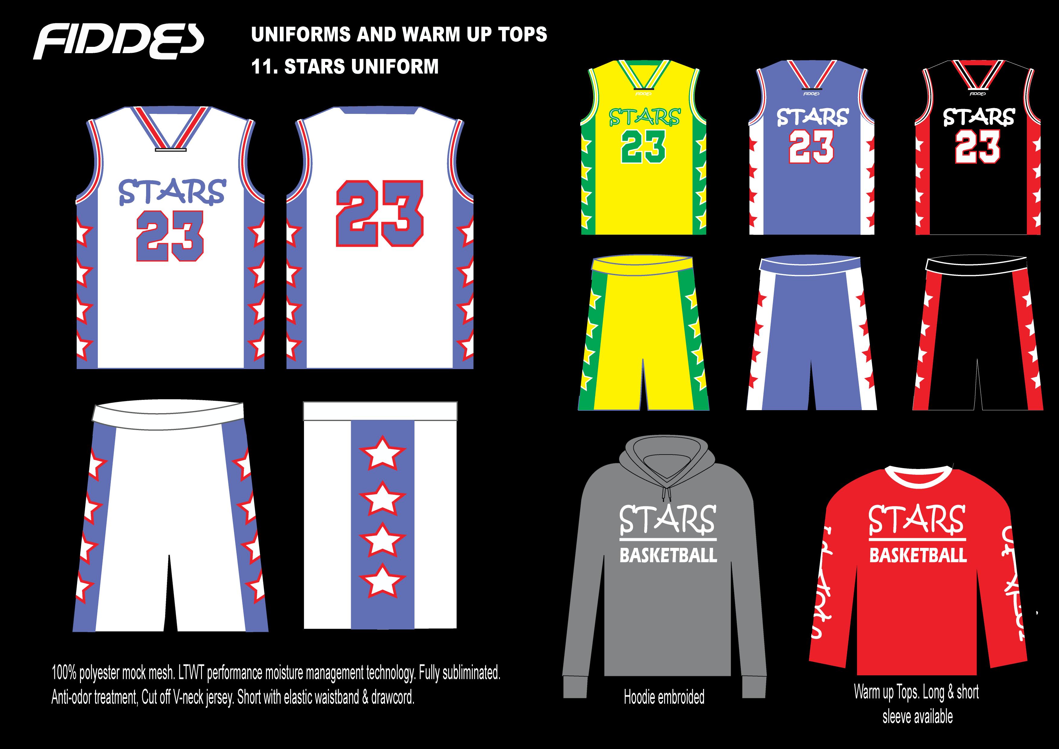 11. Stars Uniform