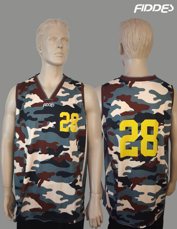 camouflage singlet