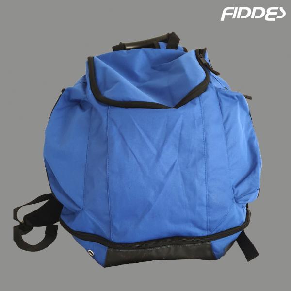 blue back pack