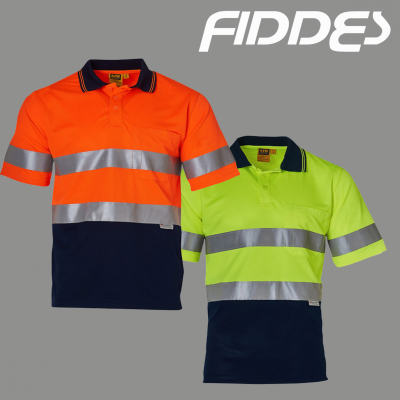 Short Sleeve safety polo
