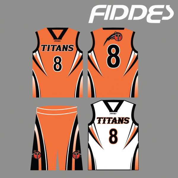 titans uniform reversible singlet