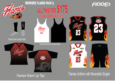 werribee flames Pack A template