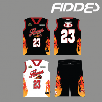 werribee flames game uniform
