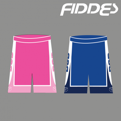 DSD PINK reversible SHORTS