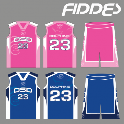 DSD PINK uniform with reversible singlet AND SHORTS