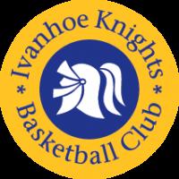 Ivanhoe knights basketball club logo