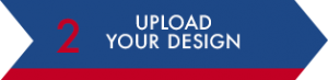 Upload your design arrow
