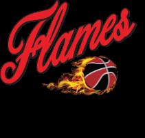 werribee flames logo on white